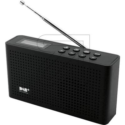 Soundmaster DAB+/UKW PLL-Radio DAB150 schwarz Soundmaster