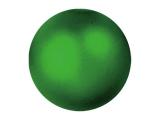 EUROPALMSDekokugel 3,5cm, grün, metallic 48x