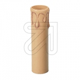 ElectroplastKerzen-Hülse E14 Tropfen/antik-beige