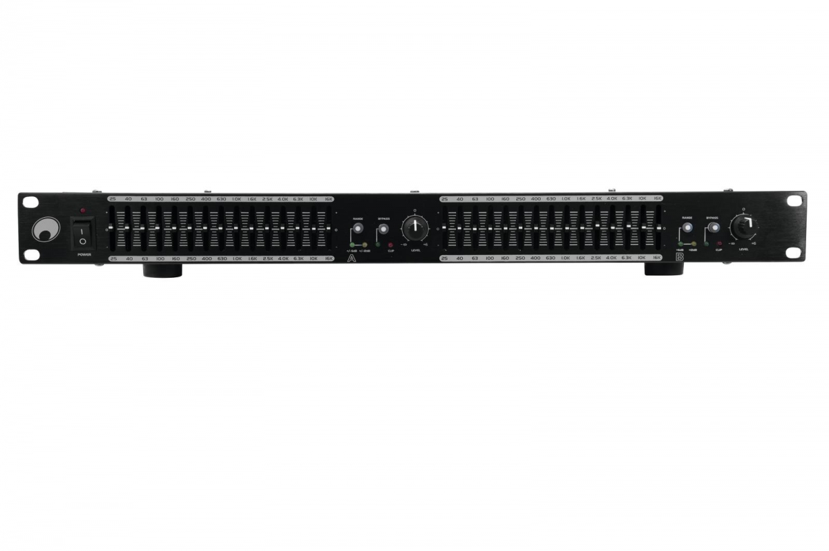 OMNITRONICGEQ-2150 Equalizer 2x15-Band