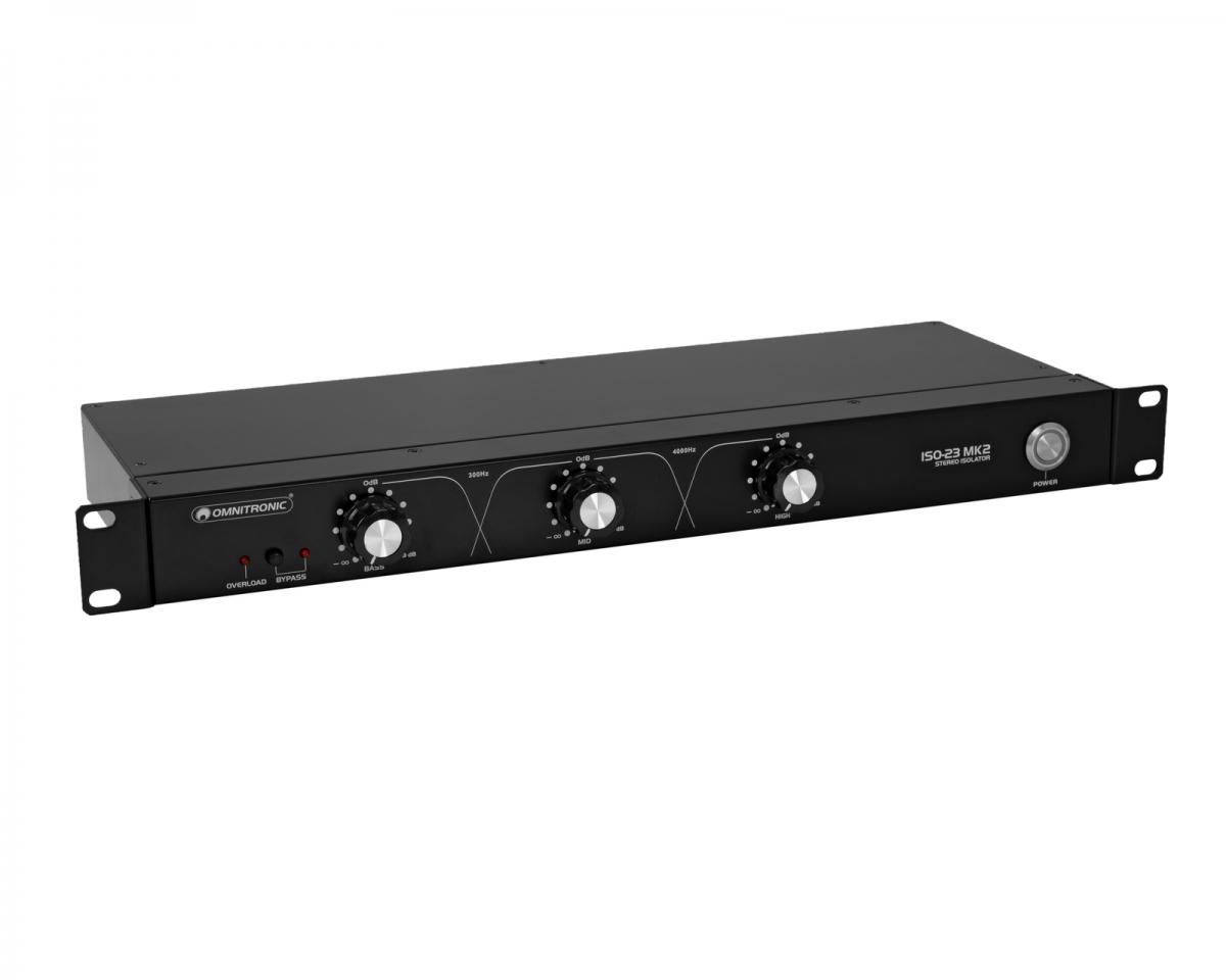 OMNITRONICISO-23 MK2 DJ Isolator