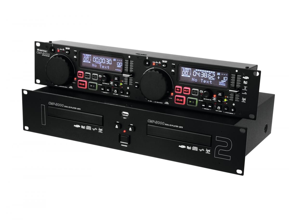 OMNITRONICCMP-2000 Dual CD/MP3 Player