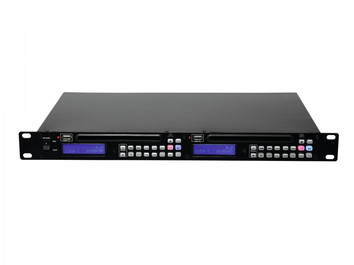 OMNITRONICDMP-202 Dual USB/CD Player