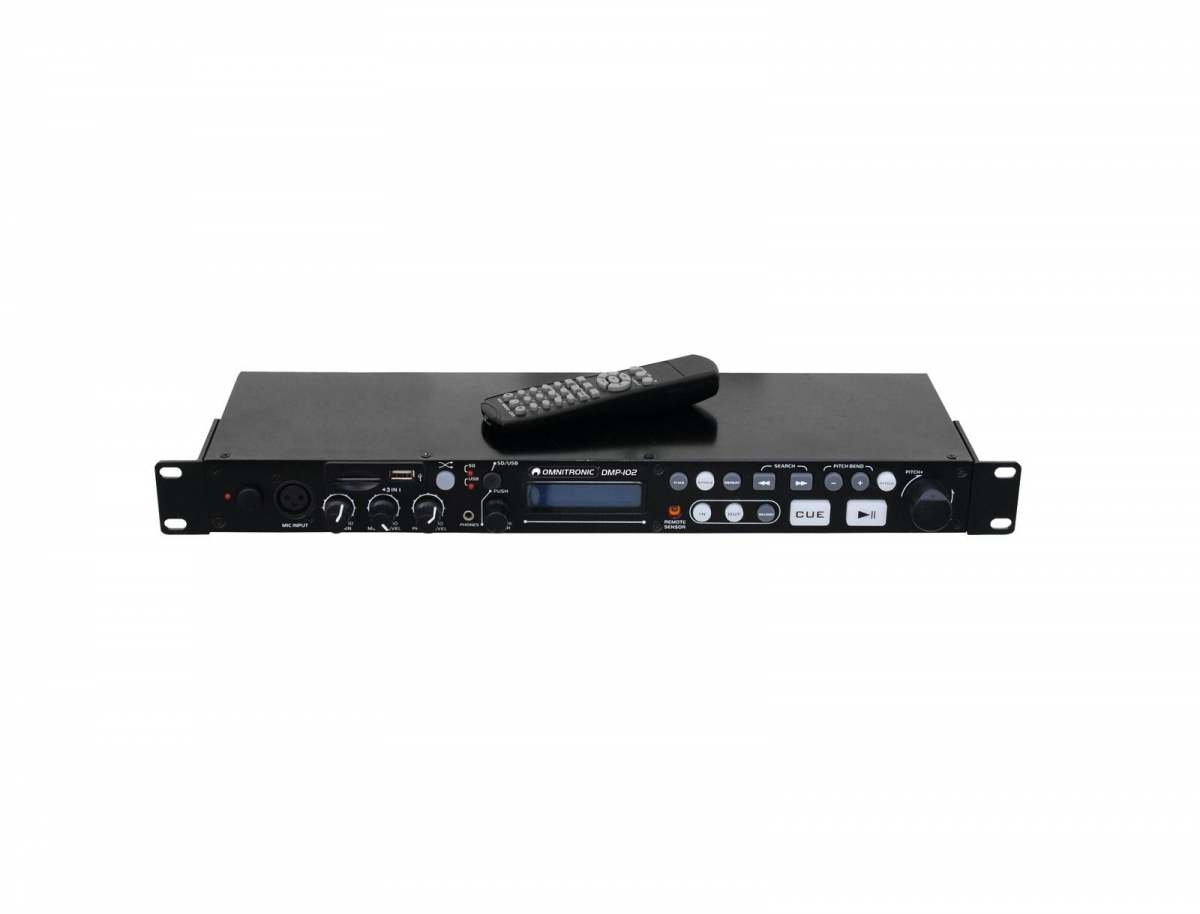 OMNITRONICDMP-102 USB/SD Card Player