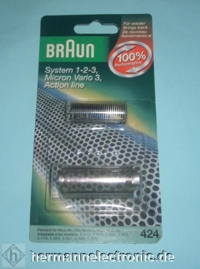 Braun Scherblatt 424 für 5419, 5424, 5469, 5470, 5479, 5 11120.7/16L