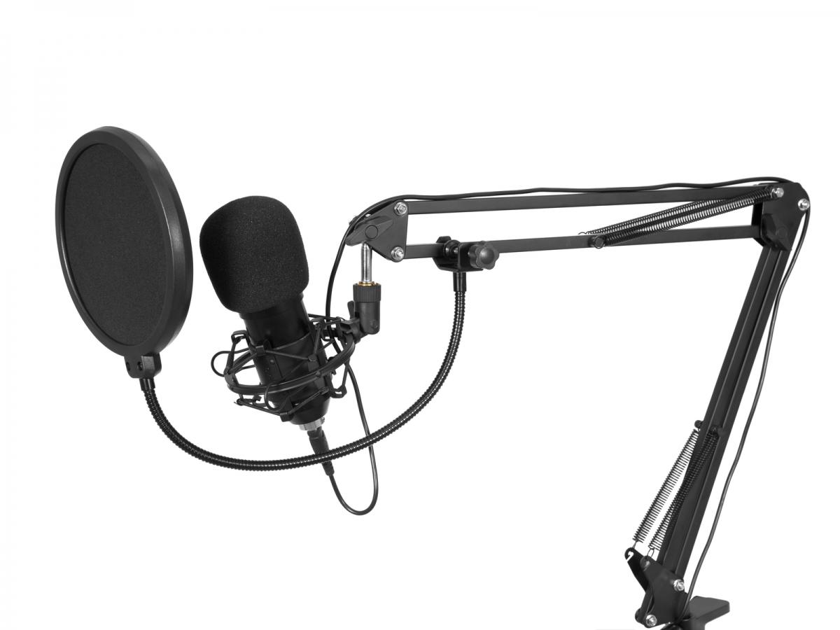 OMNITRONICBMS-1C USB Condenser Broadcast Microphone Set