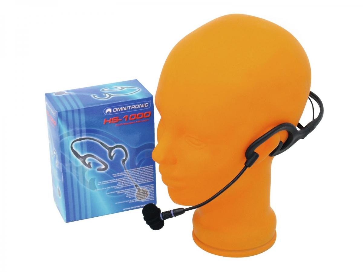 OMNITRONICHS-1000 XLR Headset Microphone