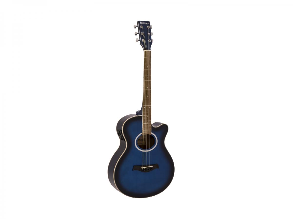 DIMAVERYAW-400 Western guitar, blueburst