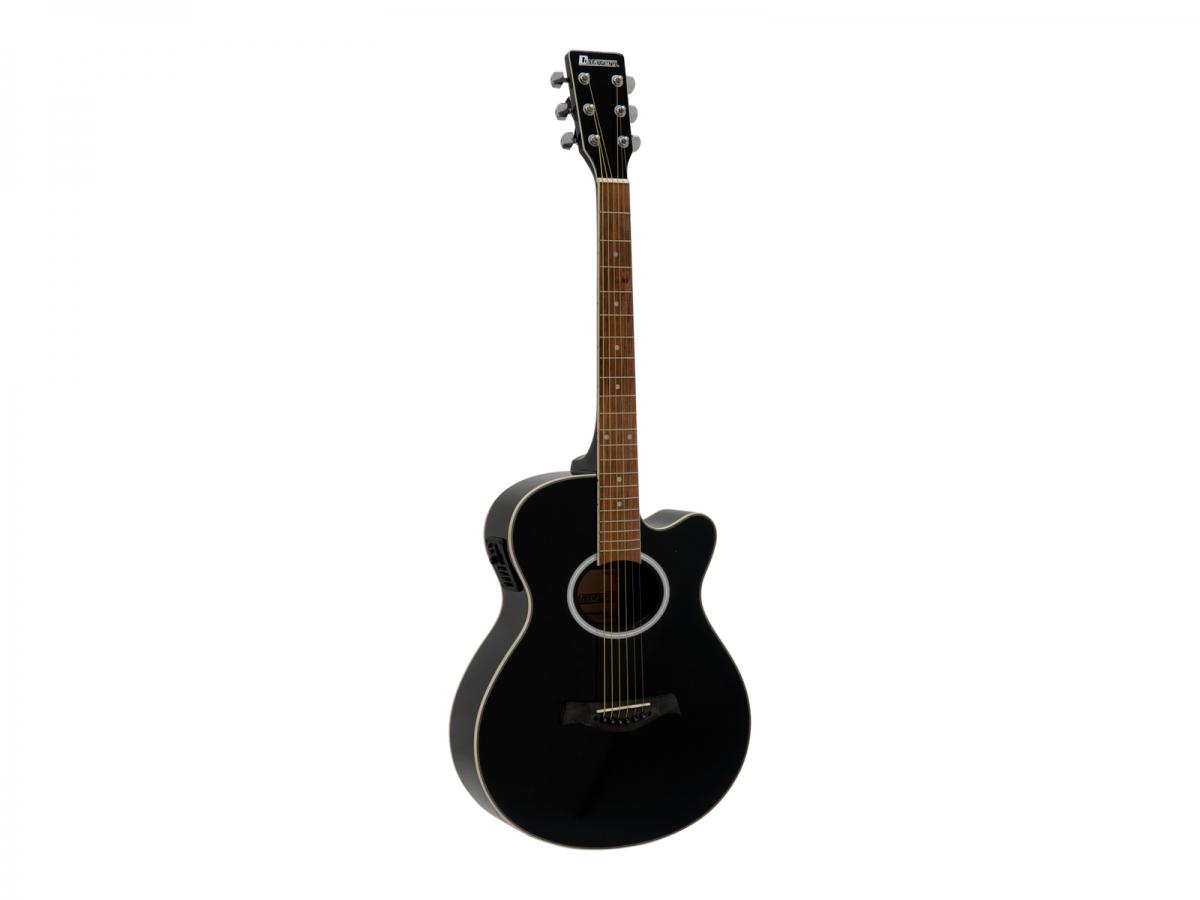 DIMAVERYAW-400 Western guitar, black
