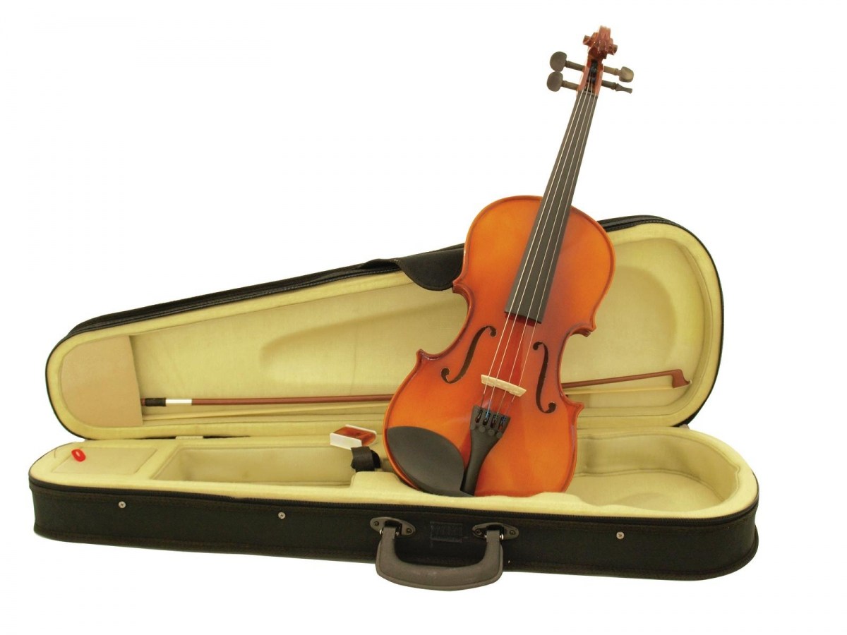 DIMAVERYViolin 4/4 with bow in case