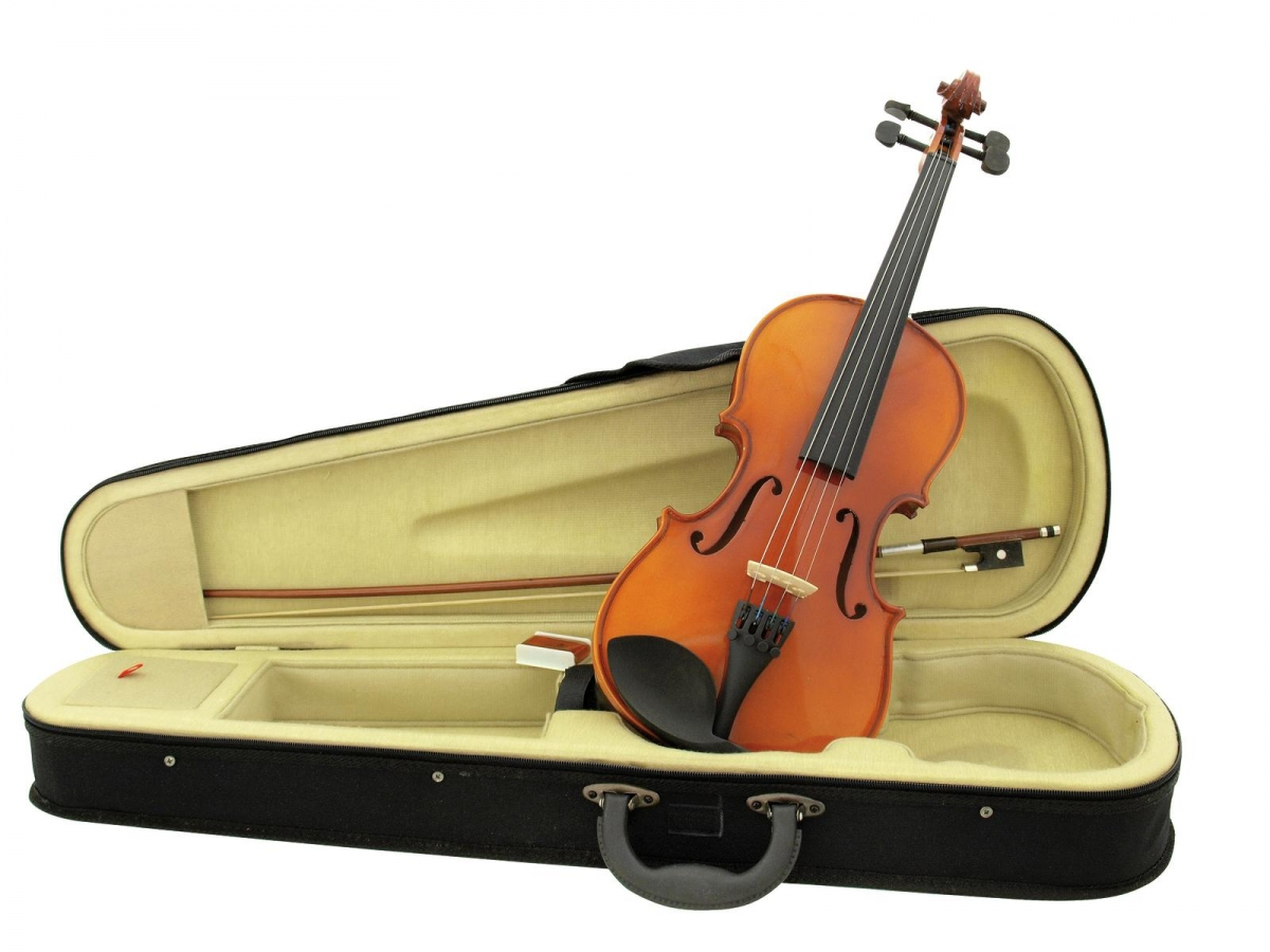 DIMAVERYViolin 3/4 with bow in case