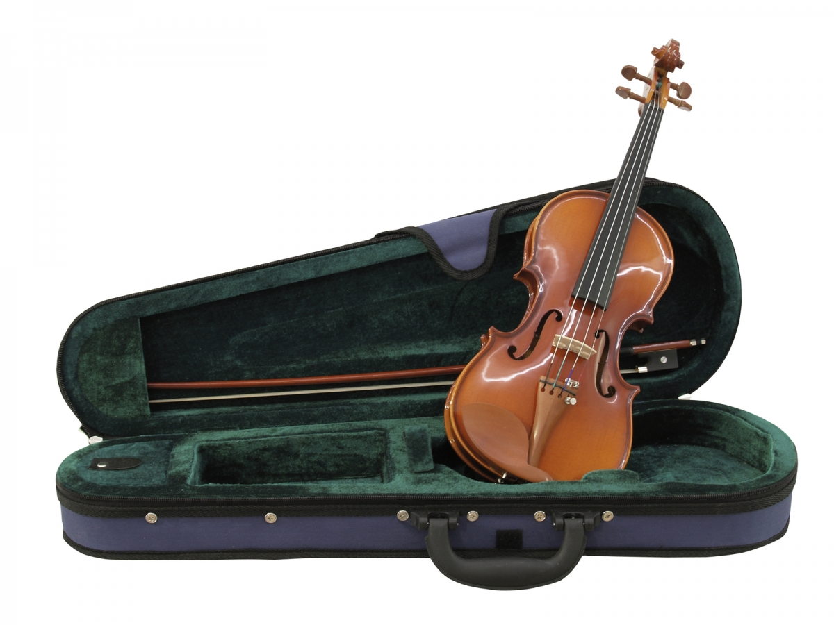 DIMAVERYViolin 1/4 with bow in case