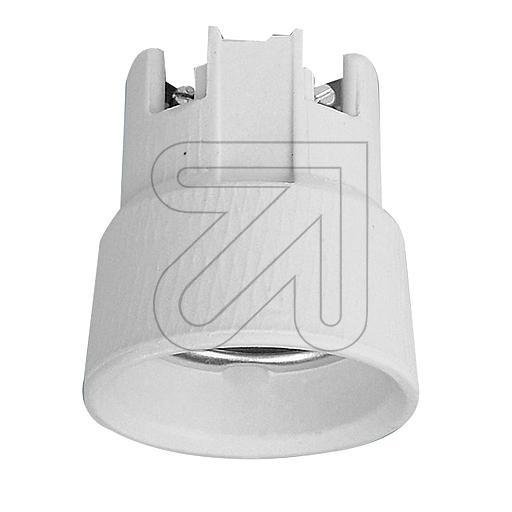 ElectroplastPorzellan-Einbaufassung E27