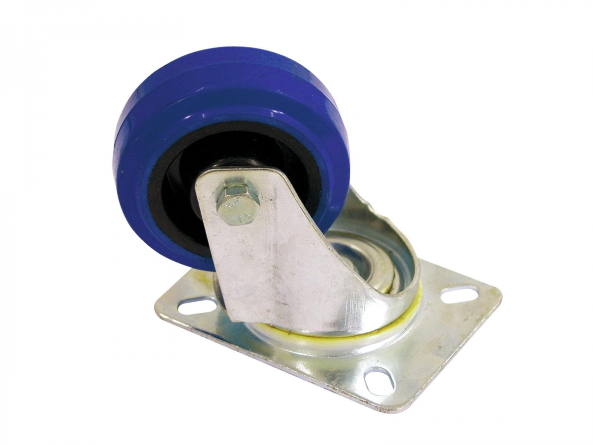 ROADINGERSwivel Castor 80mm blue