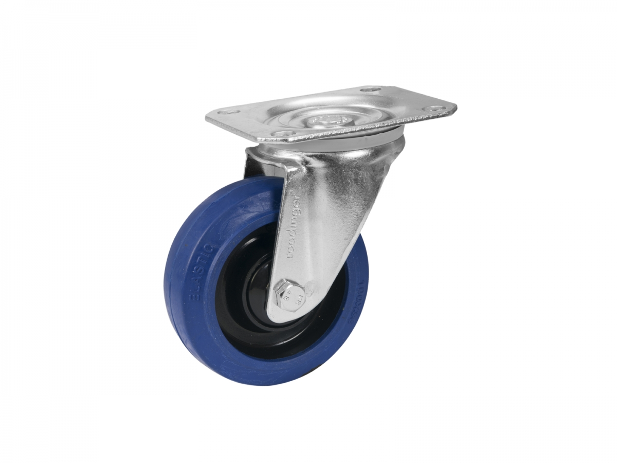 ROADINGERSwivel Castor RD-100 100mm blue