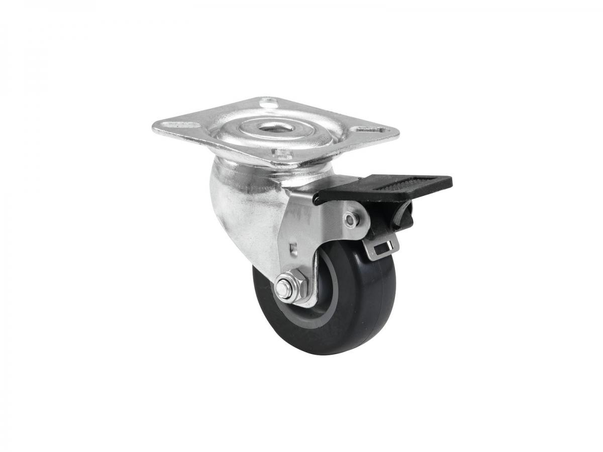 ROADINGERSwivel Castor 50mm grey with brake