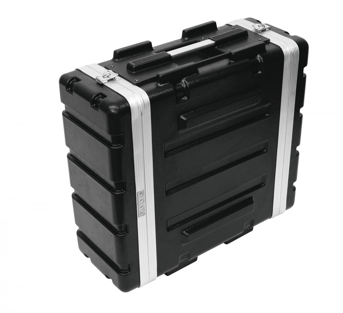 ROADINGERPlastic-Rack KR-19, 4U, DD, black