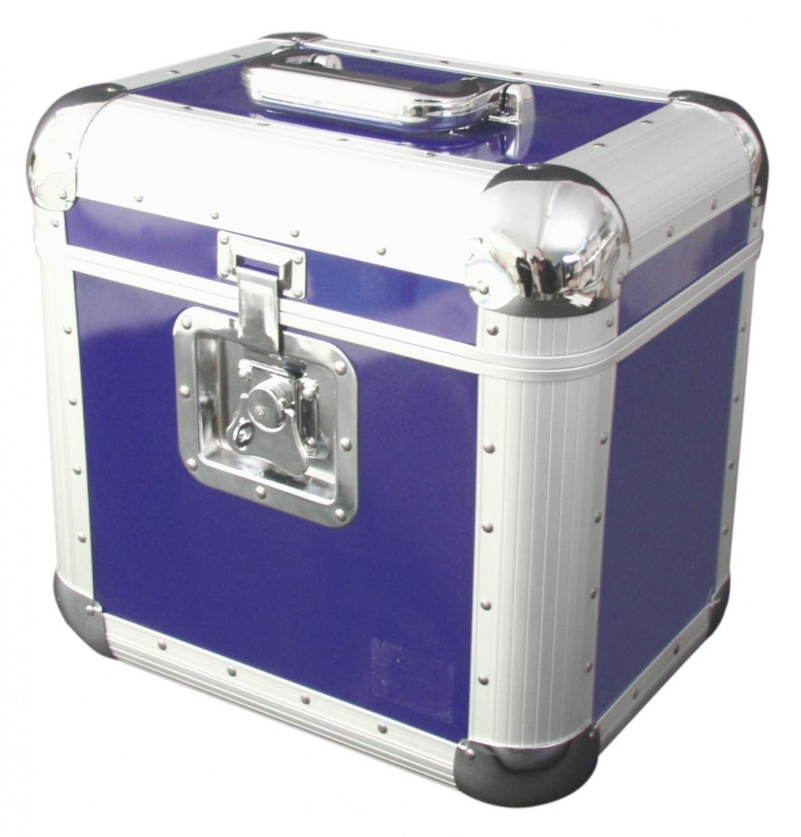 ROADINGERRecord Case ALU 75/25, rounded, blue
