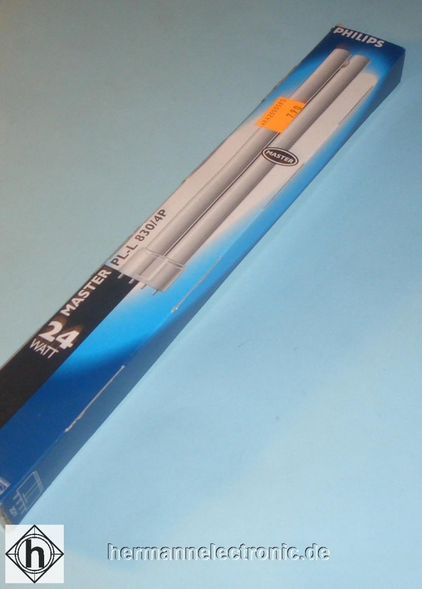 PhilipsPL-L 24W/830 4P Kompaktleuchtstofflampe 2G11