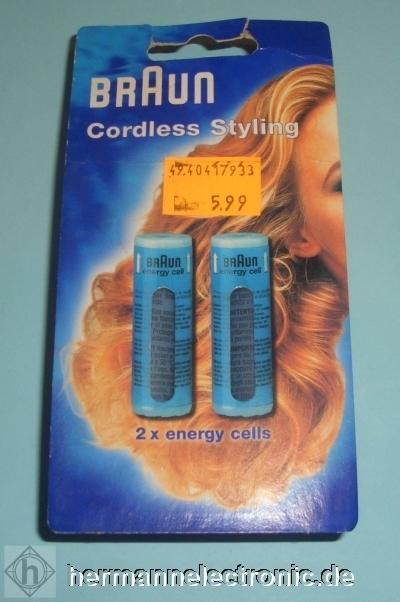 Braun Cordless Styling Ersatz-Energy Cell CT2 für GCC 4/ 370133L