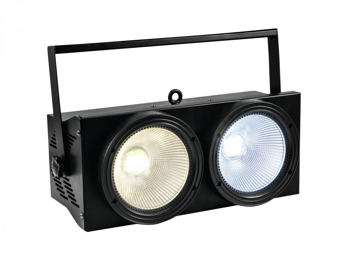 EUROLITEAudience Blinder 2x100W LED COB CW/WW
