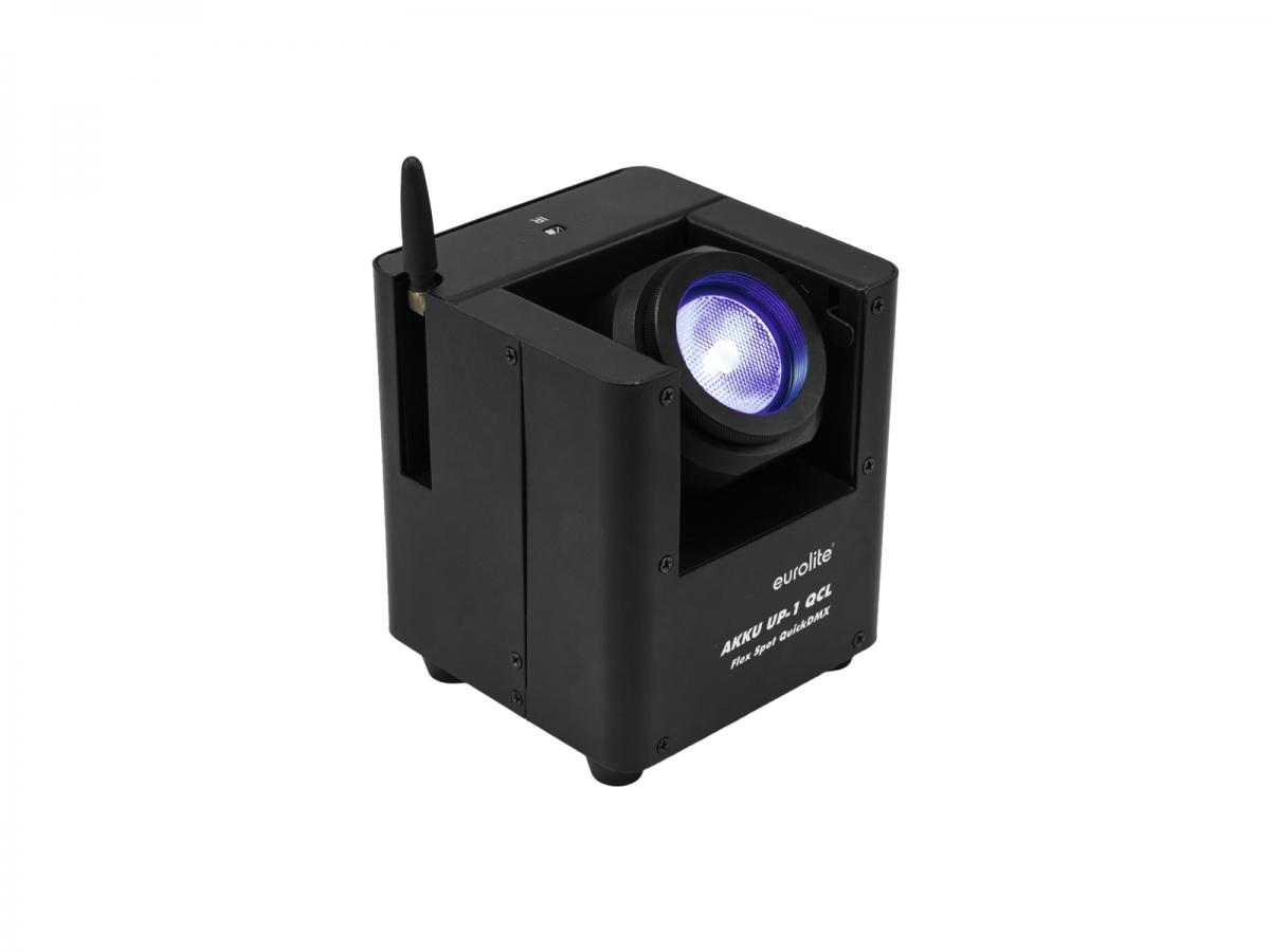 EUROLITEAKKU UP-1 QCL Flex Spot QuickDMX