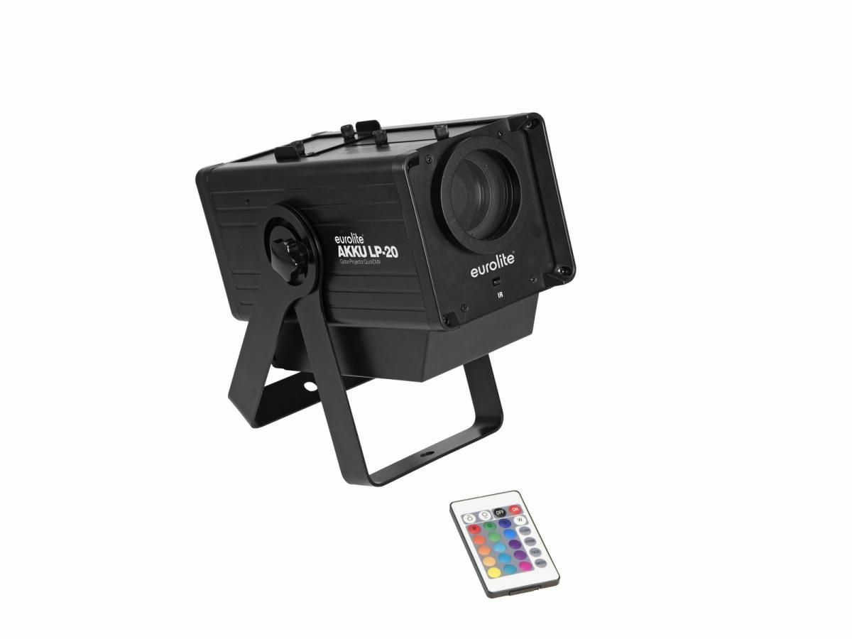 EUROLITEAKKU LP-20 Gobo Projektor QuickDMX