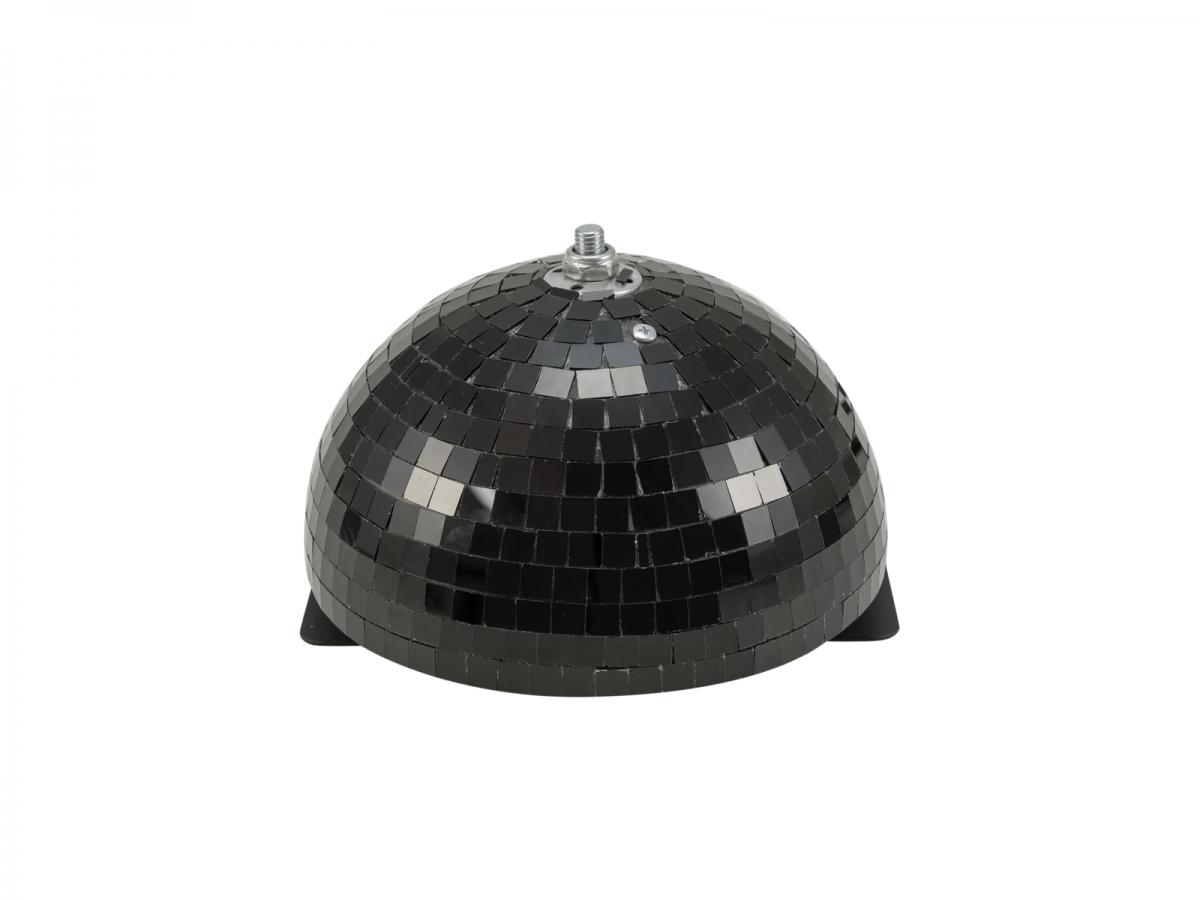 EUROLITEHalf Mirror Ball 20cm black motorized