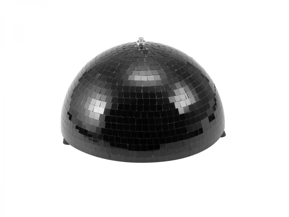 EUROLITEHalf Mirror Ball 30cm black motorized