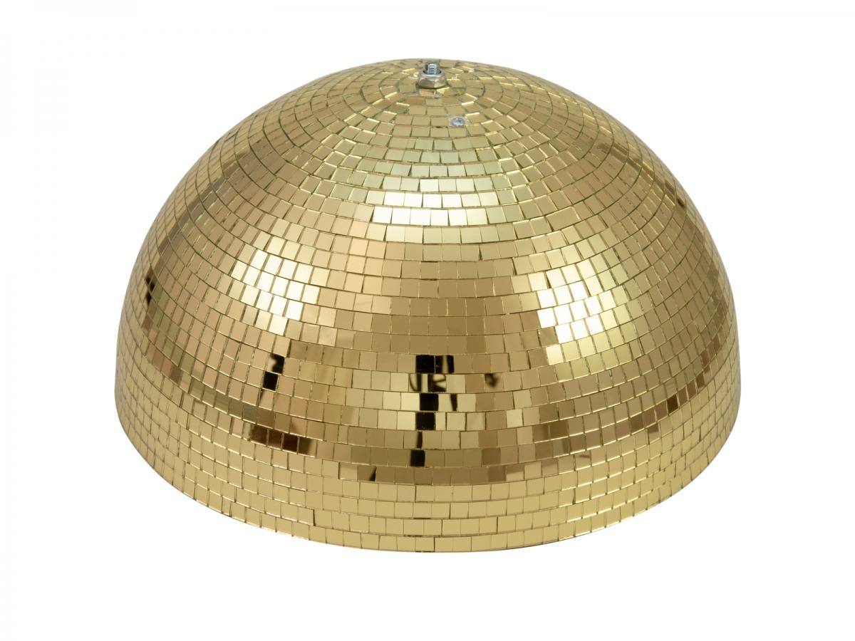 EUROLITEHalf Mirror Ball 40cm gold motorized