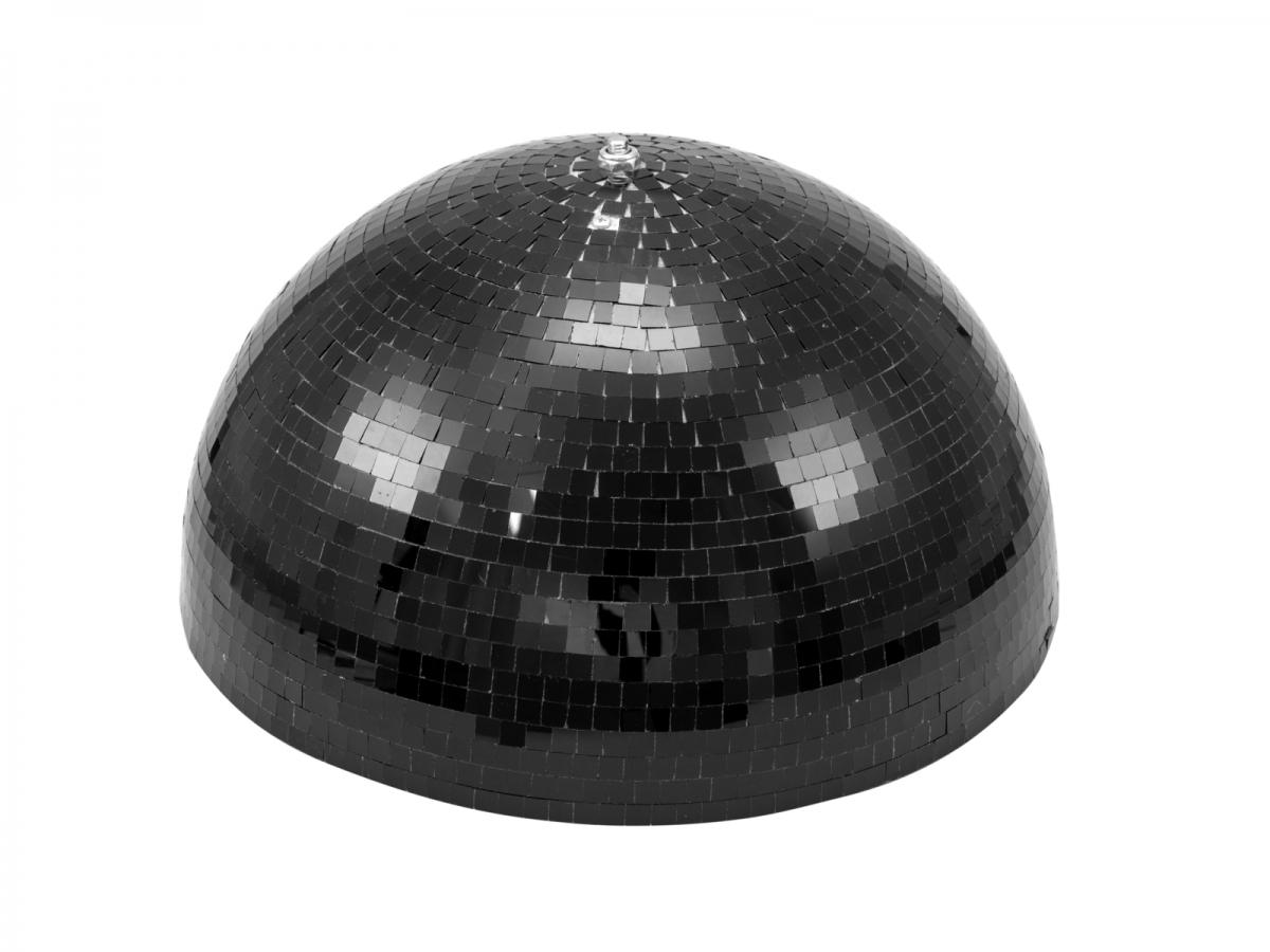 EUROLITEHalf Mirror Ball 40cm black motorized