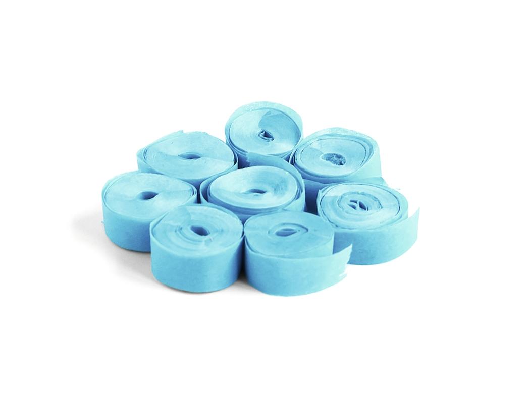 TCM FXSlowfall Streamers 5mx0.85cm, light blue, 100x