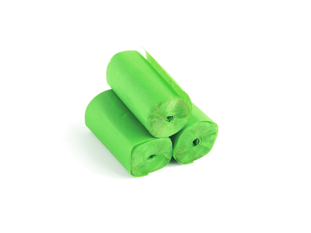 TCM FXSlowfall Streamers 10mx5cm, light green, 10x