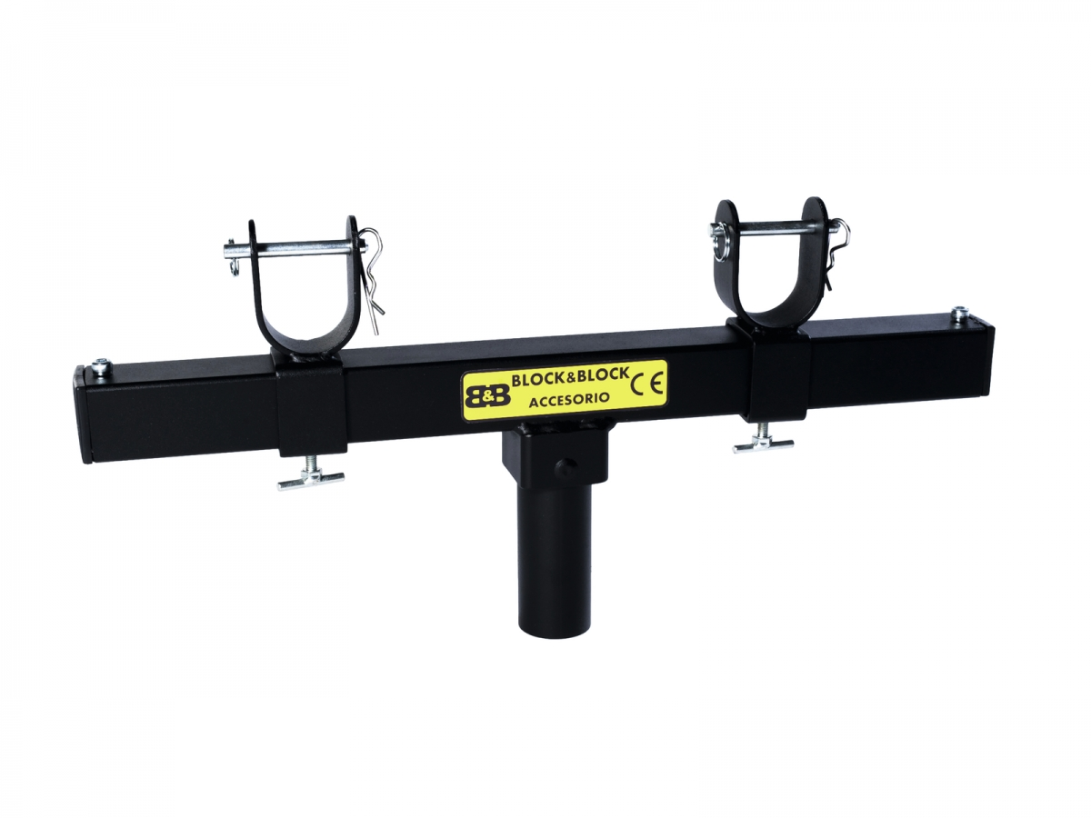 BLOCK AND BLOCKAM3501 Adjustable support for truss insertion 35mm male