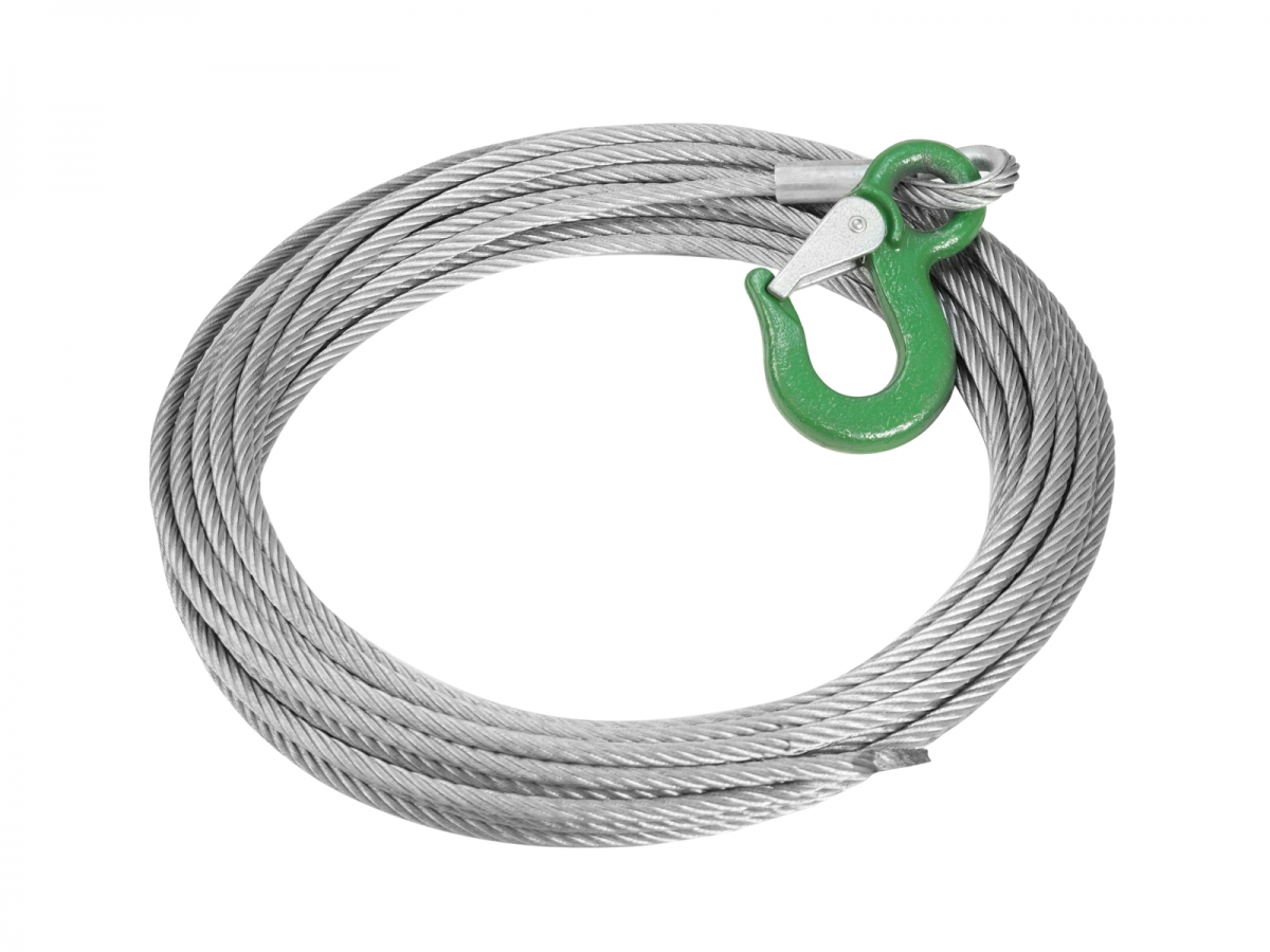 ACCESSORYTower Steelrope 8mm w. clamp
