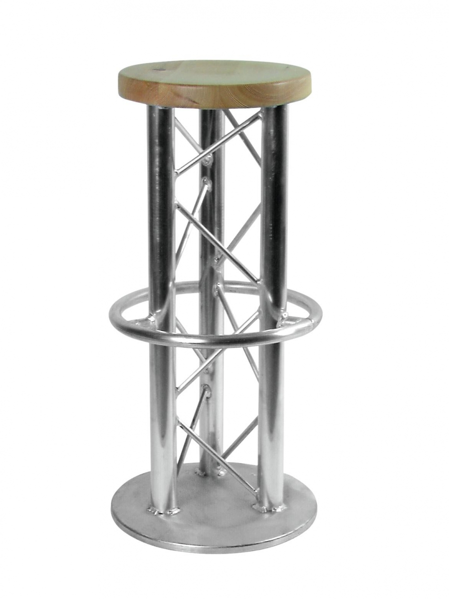 ALUTRUSSBar Stool with Ground Plate