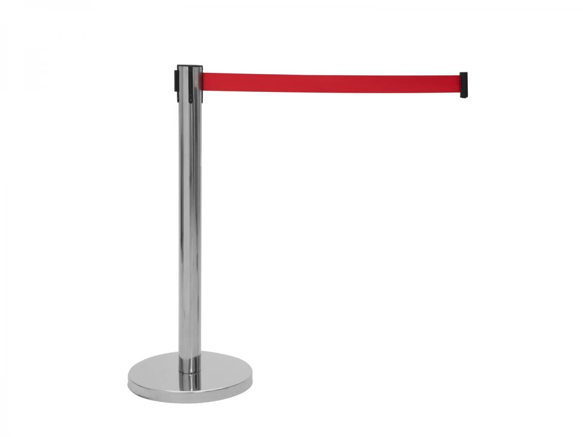 EUROLITEBarrier System with Retractable red Belt