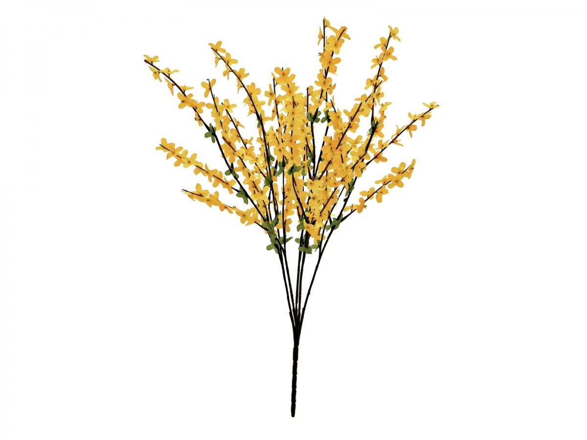 EUROPALMSForsythia bush, artificial, 60cm