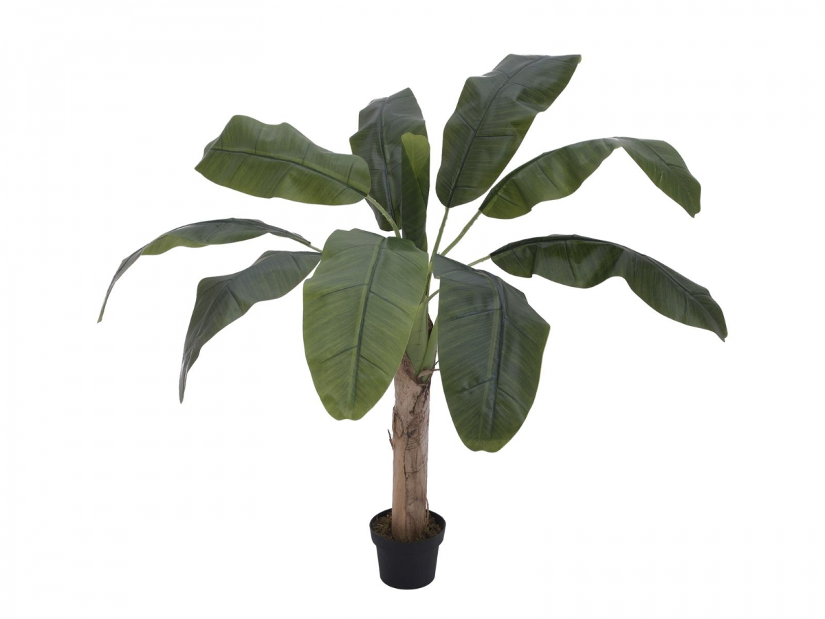 EUROPALMSBanana tree, artificial plant, 100cm