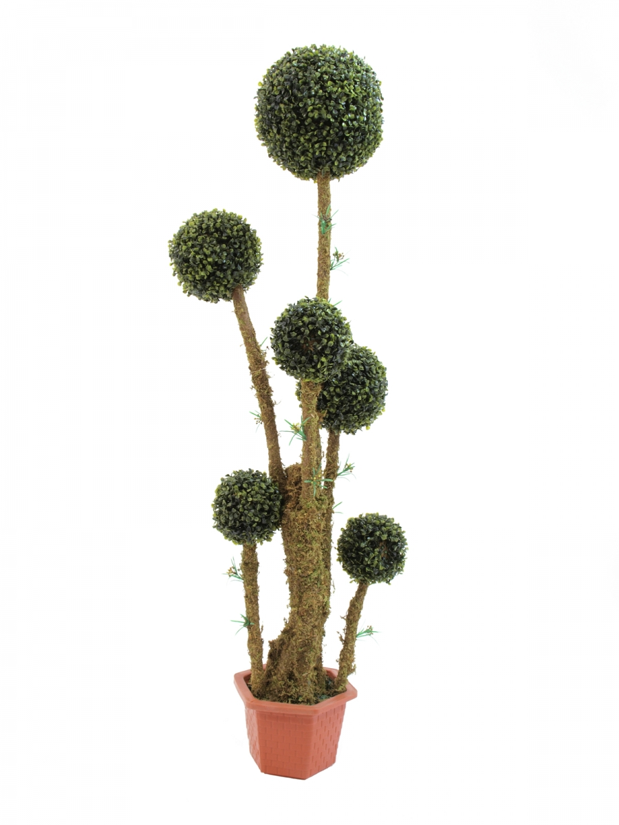 EUROPALMSBox ball tree, artificial, 163cm