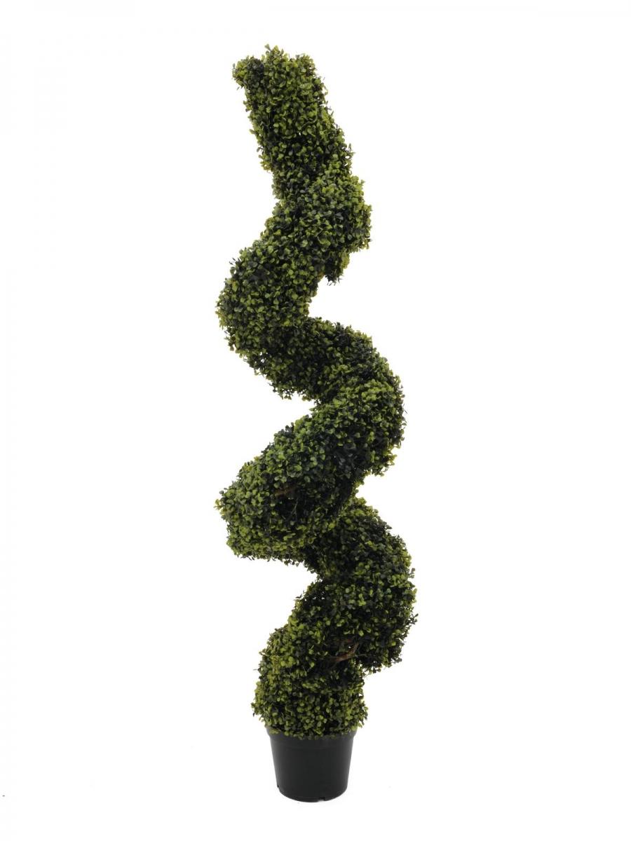 EUROPALMSBoxwood Spiral, artificial, 150cm
