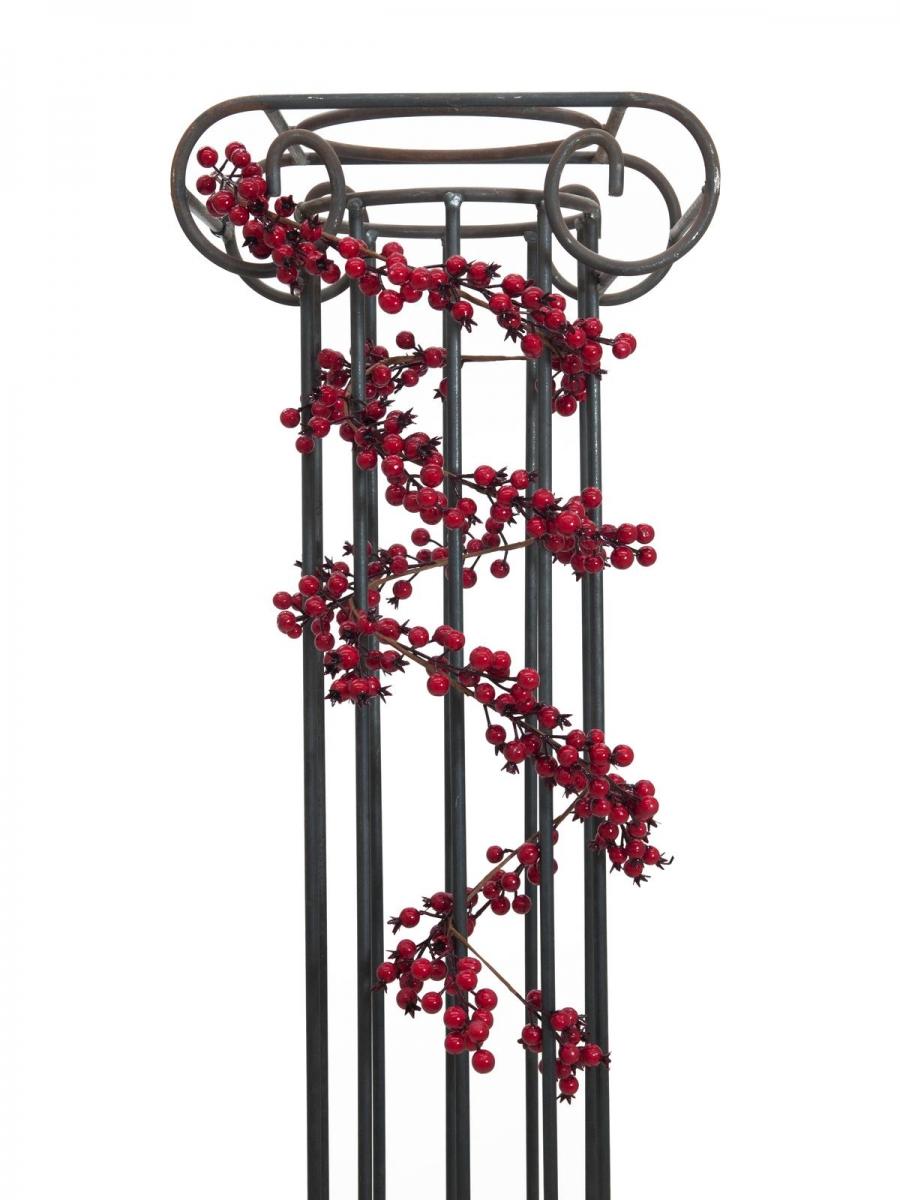 EUROPALMSBerry garland red 180cm