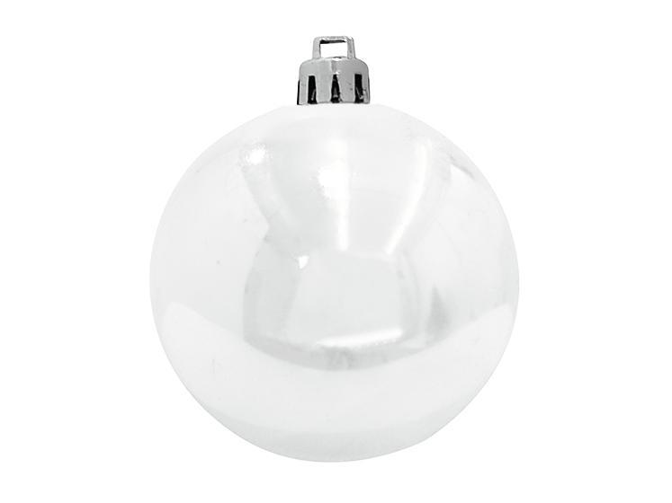 EUROPALMSDeco Ball 10cm, white 4x