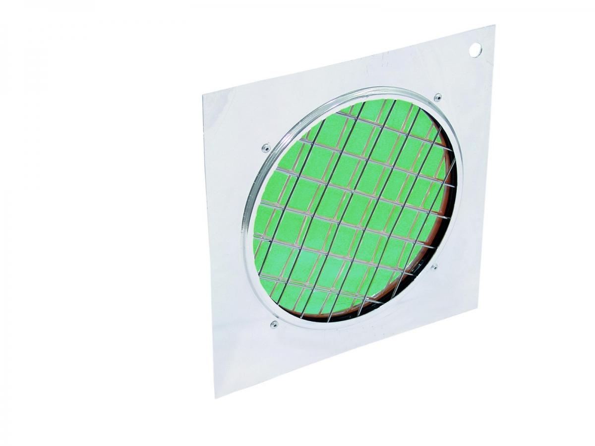 EUROLITEDichro-Filter grün, Rahmen silber PAR-56