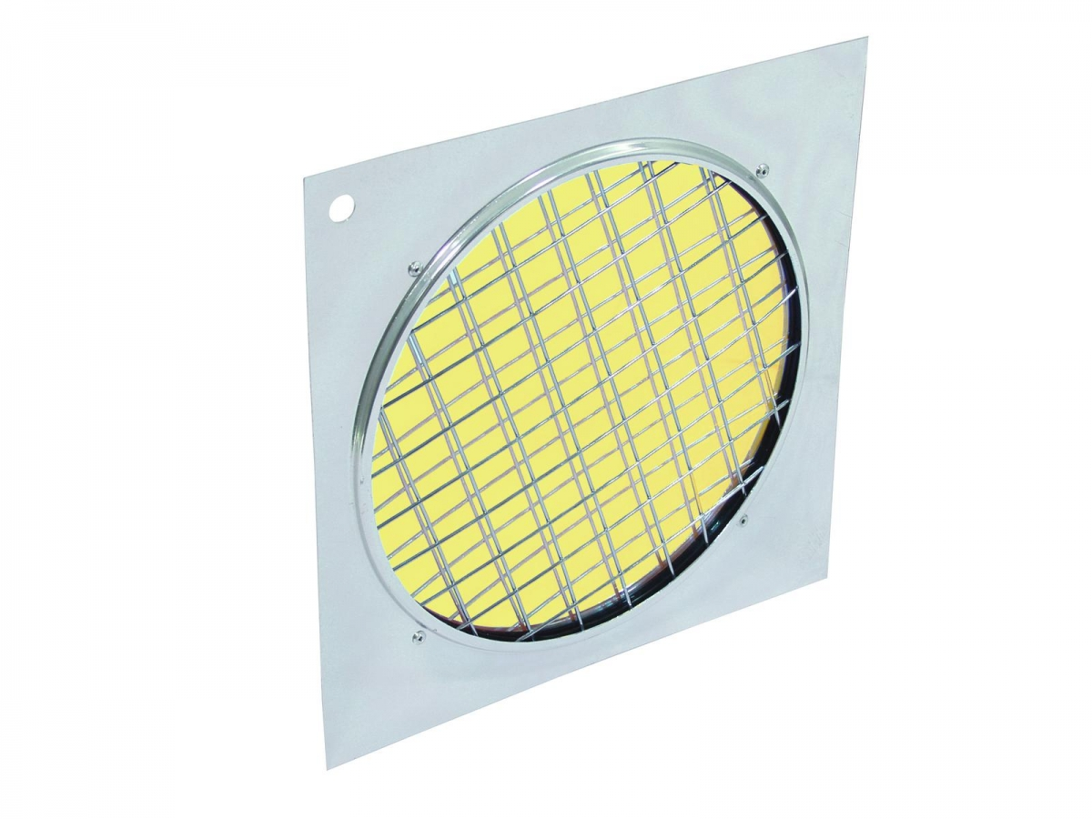 EUROLITEDichro-Filter gelb, Rahmen silber PAR-64
