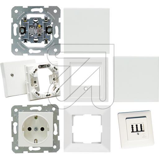 EGB1-family house starter set Meridian pure white ./080290