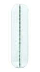 EGBElegant Standard Clip-Paar weiß RAL 9010 Farbclips für Abdeckrahmen, Preis pro Paar weiß