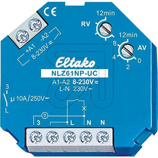EltakoNachlaufschalter NLZ61-UC-230V 1 Schließer 61100704