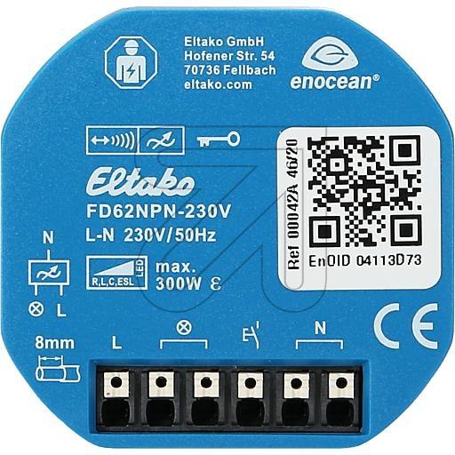 EltakoFunk-Universal-Dimmaktor FD62NPN-230V