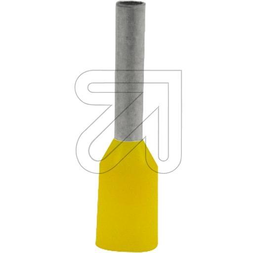 EGBAderendhülsen gelb 1,0->Preis für 100 STK!EUR 0.01 je STK